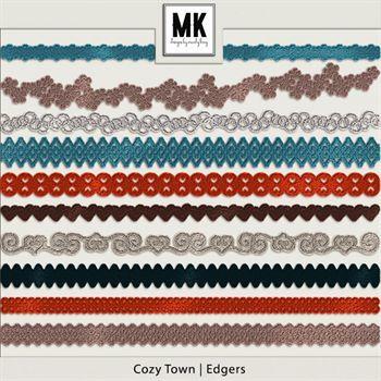 Cozy Town - Edgers Digital Art - Digital Scrapbooking Kits