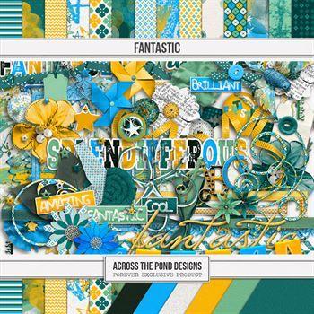 Fantastic - Page Kit Digital Art - Digital Scrapbooking Kits
