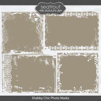 Shabby Chic Photo Masks