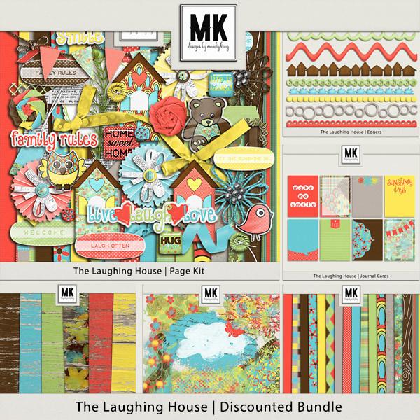 The Laughing House - Discounted Bundle Digital Art - Digital Scrapbooking Kits