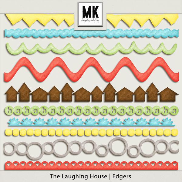 The Laughing House - Edgers Digital Art - Digital Scrapbooking Kits