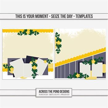 This Is Your Moment - Seize The Day - Templates Digital Art - Digital Scrapbooking Kits