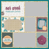 52 Weeks - January-March Book