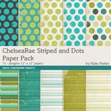 Chelsearae Stripes And Dots Paper Pack