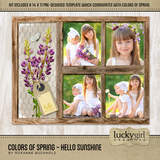 Colors Of Spring - Hello Sunshine