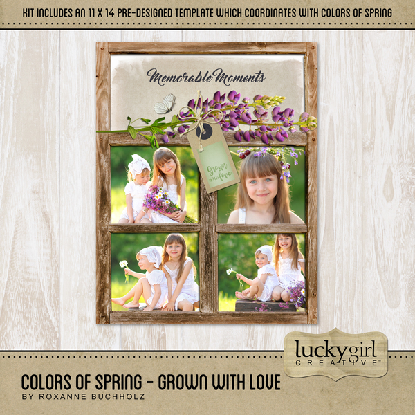Colors Of Spring - Grown With Love
