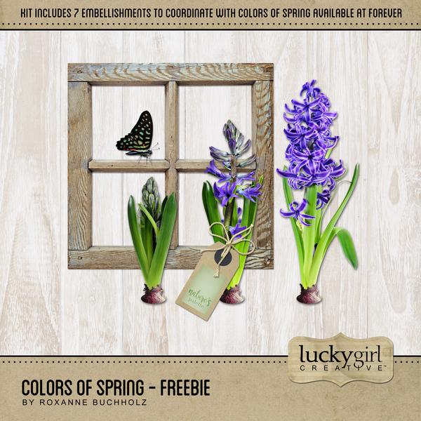 Colors Of Spring - Freebie