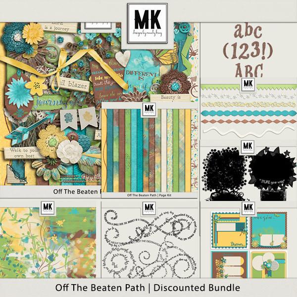 Off The Beaten Path - Discounted Bundle Digital Art - Digital Scrapbooking Kits