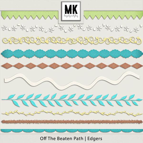 Off The Beaten Path - Edgers Digital Art - Digital Scrapbooking Kits