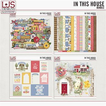 In This House - Bundle Digital Art - Digital Scrapbooking Kits