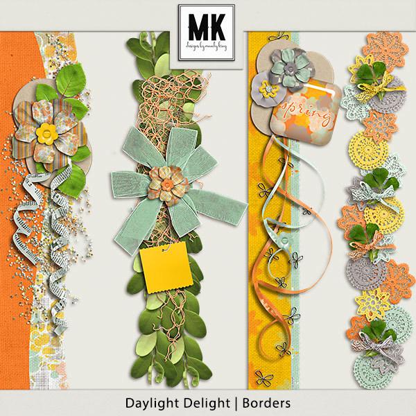 Daylight Delight - Borders Digital Art - Digital Scrapbooking Kits