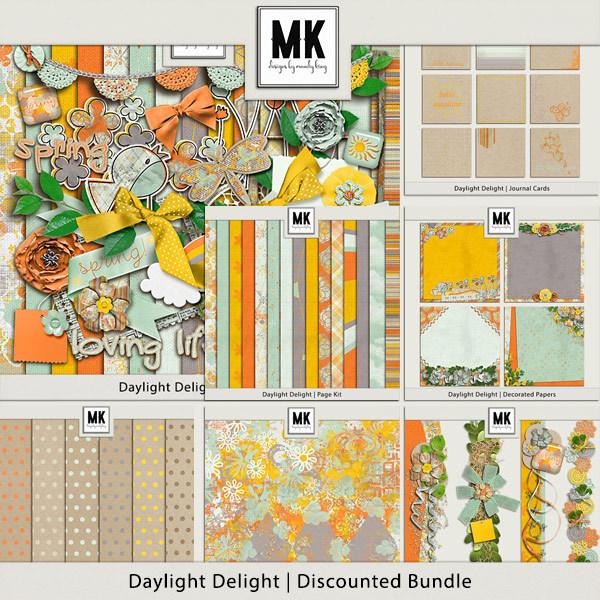 Daylight Delight - Discounted Bundle Digital Art - Digital Scrapbooking Kits