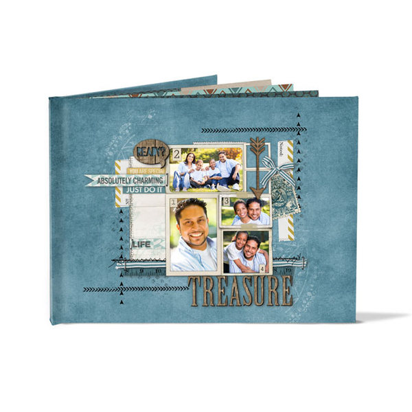 Hardbound Photo Book (11 X 8.5)