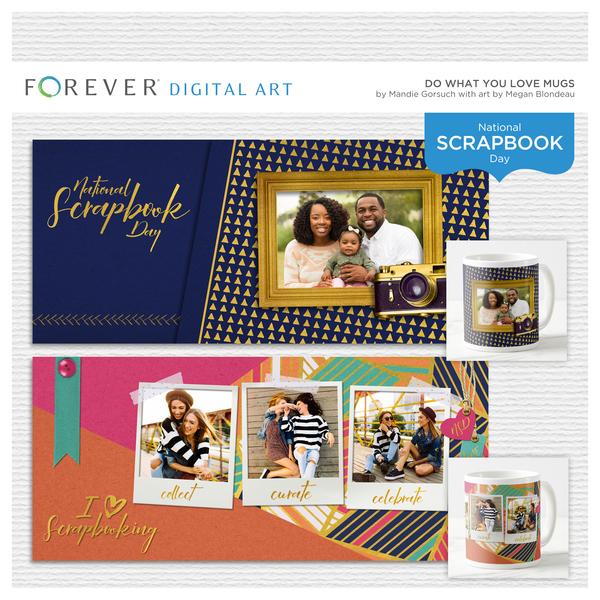 Do What You Love Mugs Digital Art - Digital Scrapbooking Kits