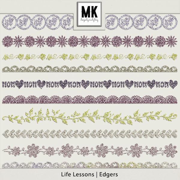 Life Lessons - Edgers Digital Art - Digital Scrapbooking Kits