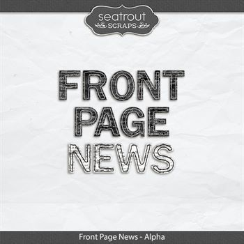 Front Page News - Alphas Digital Art - Digital Scrapbooking Kits