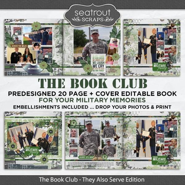 The Book Club - They Also Serve Predesigned Editable Book