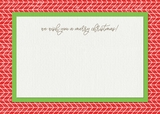 25 Days Of Christmas 5x7 Flat Landscape Cards