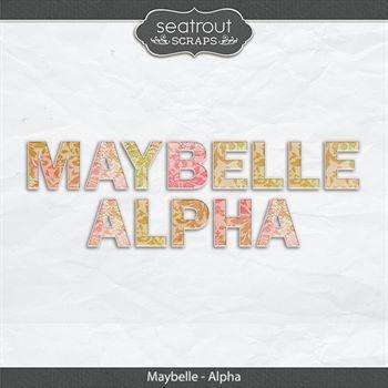 Maybelle - Alpha Digital Art - Digital Scrapbooking Kits
