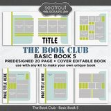 The Book Club - Basic Book 5 - Predesigned Editable Book