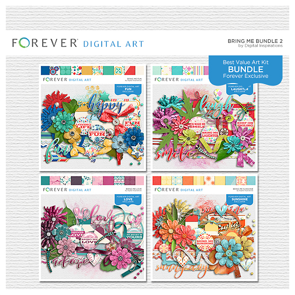 Bring Me Bundle 2 Digital Art - Digital Scrapbooking Kits