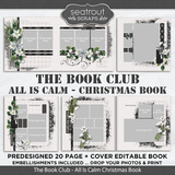 The Book Club - All Is Calm Predesigned Editable Book