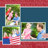 Freedom 12x12 Digital Predesigned Pages