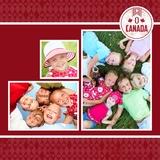 O' Canada 12x12 Digital Predesigned Pages