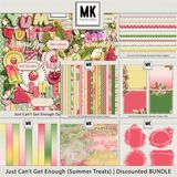 Just Can't Get Enough Summer Treats - Page Kit