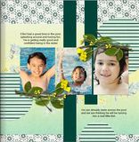 The Book Club - Beautiful Summer Predesigned Editable Book