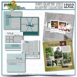 12x12 Third Quarter 2013 Blueprint Collection
