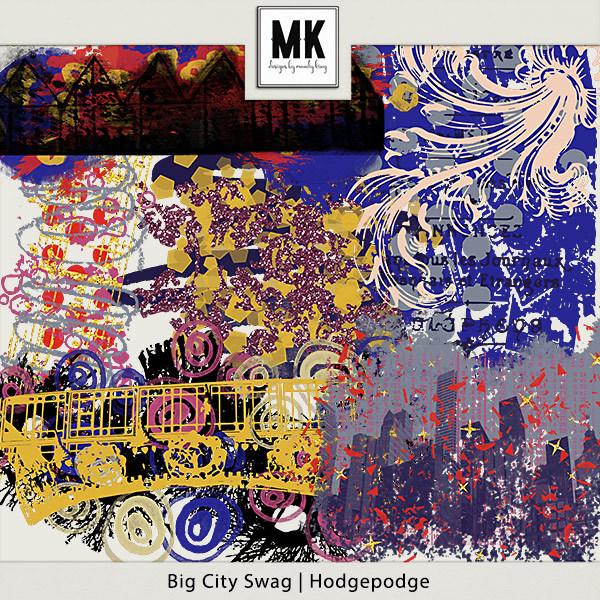Big City Swag - Hodgepodge Digital Art - Digital Scrapbooking Kits
