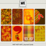 Hot Hot Hot - Journal Cards
