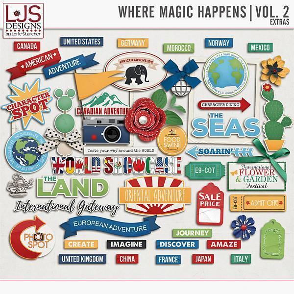 Where Magic Happens Vol. 2 - Extras