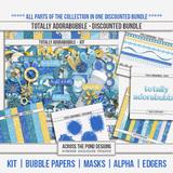 Totally Adorabubble - Page Kit