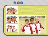 Sporty 11x8.5 Digital Predesigned Pages