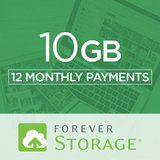 10 GB Storage Payment Plan