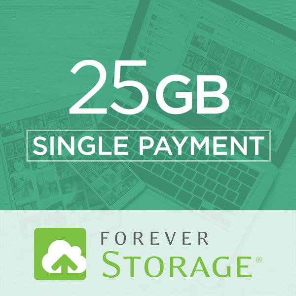 25 GB StorageGive the gift of Digital Art, Software, Storage, and Video plans. Make a lasting impression with our hand-selected favorites from FOREVER®.