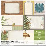 Meriam Ridge Printable Pocket Cards