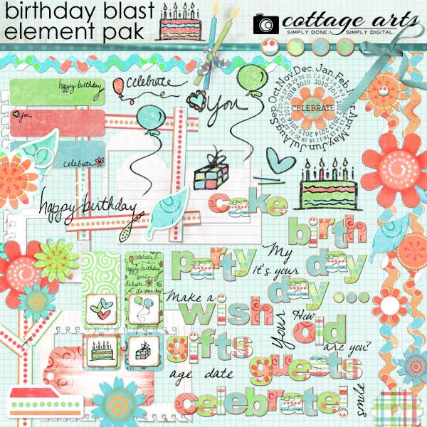 Birthday Blast Element Pak
