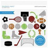 Sports Digital Shapes