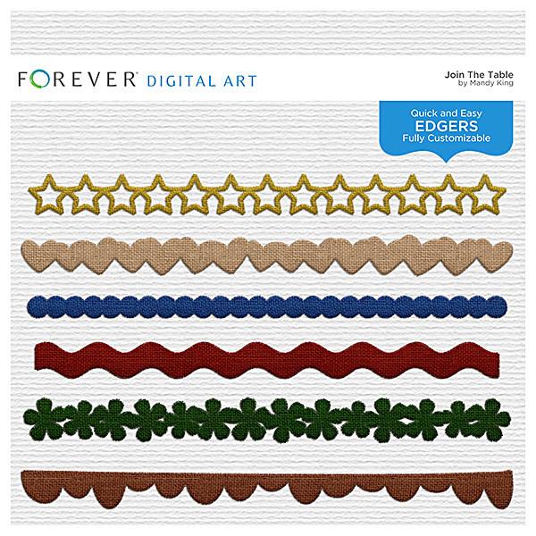 Join The Table - Edgers Digital Art - Digital Scrapbooking Kits
