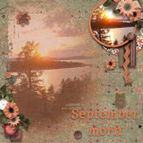September Morn - Journal Cards