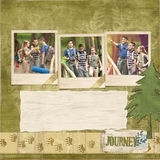 Rugged Outdoors 12x12 Predesigned Pages
