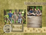 Rugged Outdoors 11x8.5 Predesigned Pages