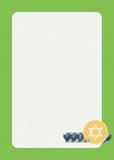 8 Nights Of Hanukkah 5x7 Cards