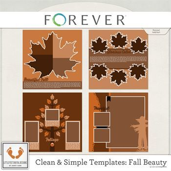 Clean And Simple Templates - Fall Beauty