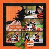 Halloween Template Bundle 1 - 4