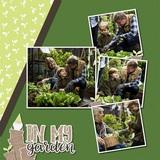 In My Garden Pre-designed Book