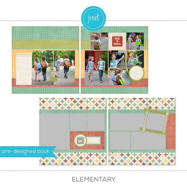 Elementary Digital Art - Digital Scrapbooking Kits